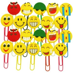 20 Συνδετήρες με φατσούλες Emoji