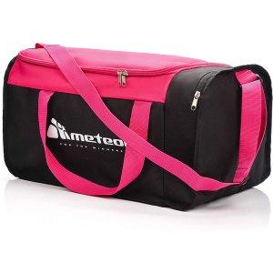 Meteor Sports Bag Ροζ - Μαύρη