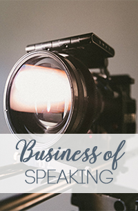 THE BUSINESS OF SPEAKING VIDEO COURSE