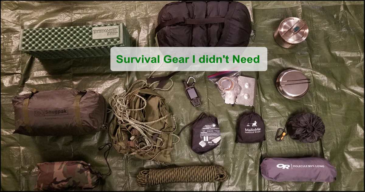 Survival Bag Emergency Car Kit