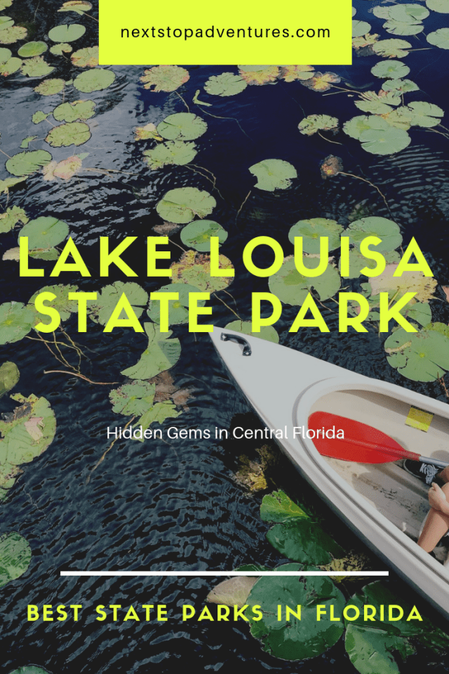 Lake Louisa State Park hidden gems in Central Florida