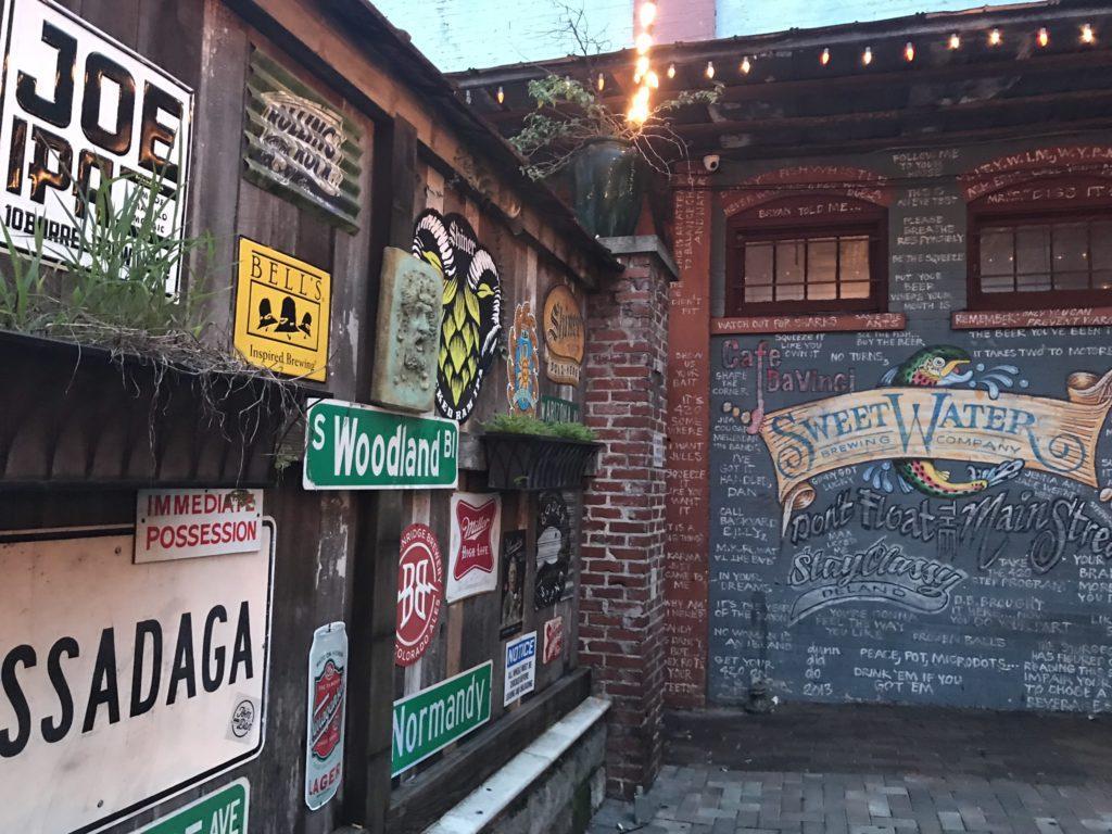 cafe da vinci in downtown deland historic district next stop adventures
