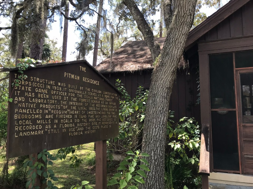 museum in ocala national forest