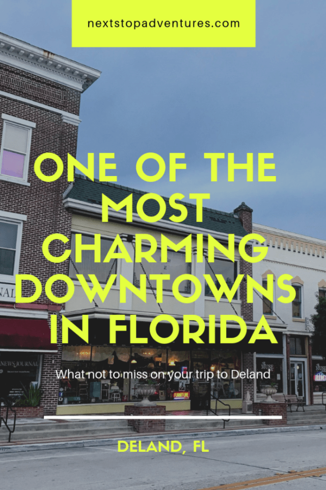 charming downtowns of florida