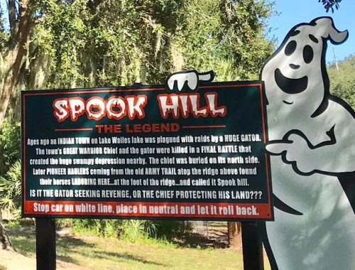the legend of 'spook hill', a gravity hill in lake wales