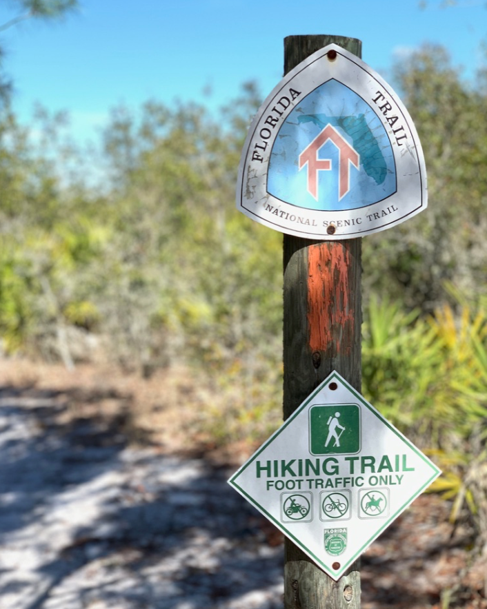 hiking the Florida Scenic Trail