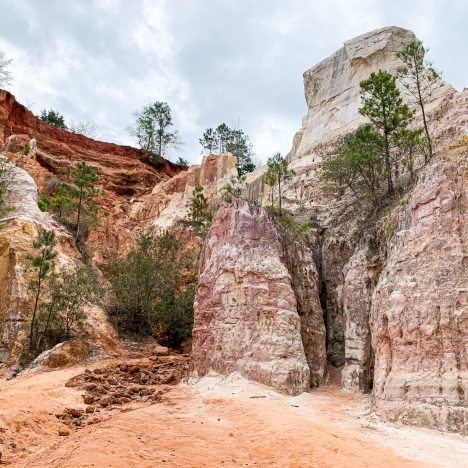 providence canyon in Georgia