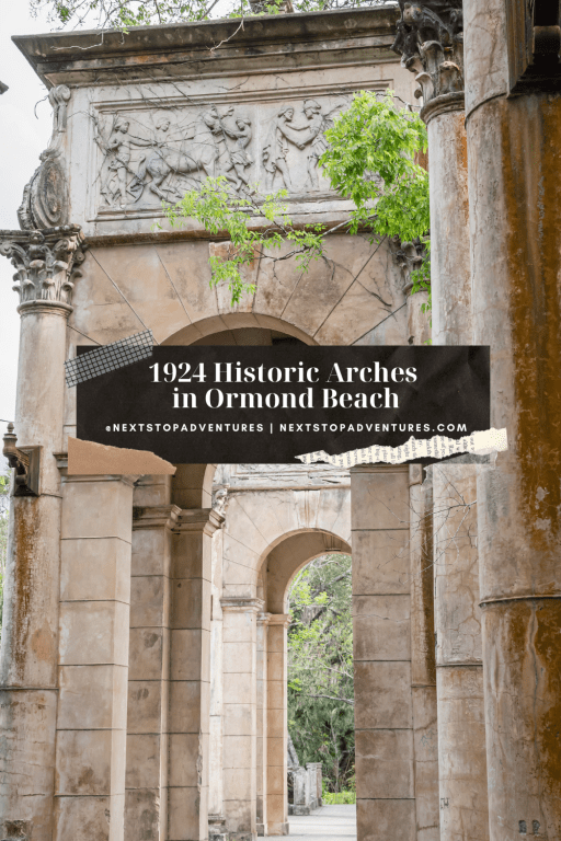 1924 Historic Arches in Ormond Beach