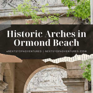 Historic Arches on Calle Grande, Ormond Beach