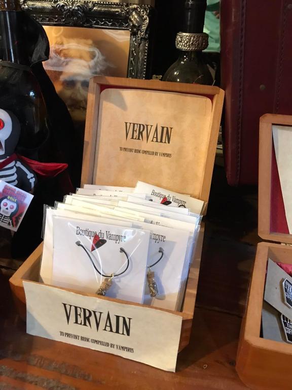 New Orleans vampire shops selling vervain