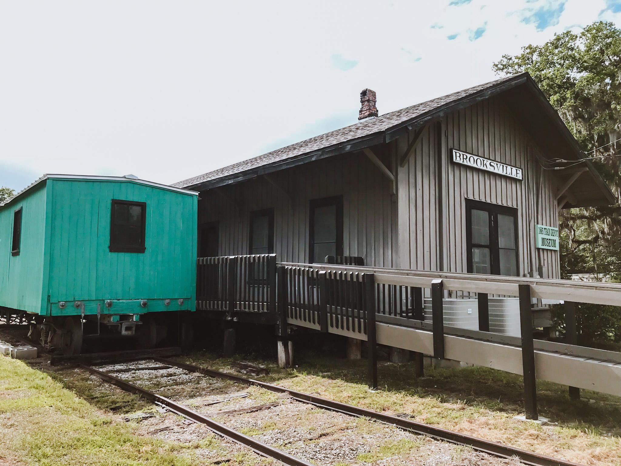 Brooksville Train Depot