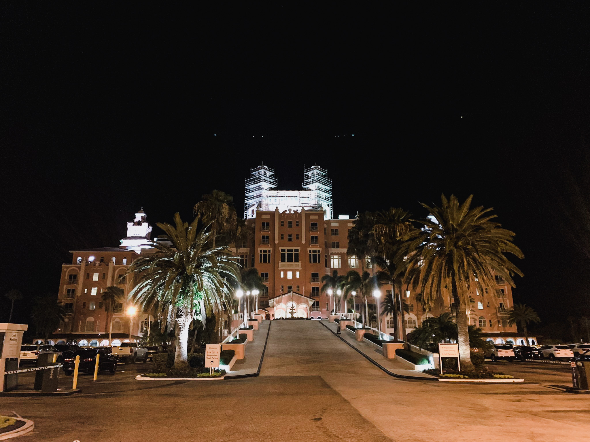 the Don CeSar Hotel is one of the most haunted places in Florida