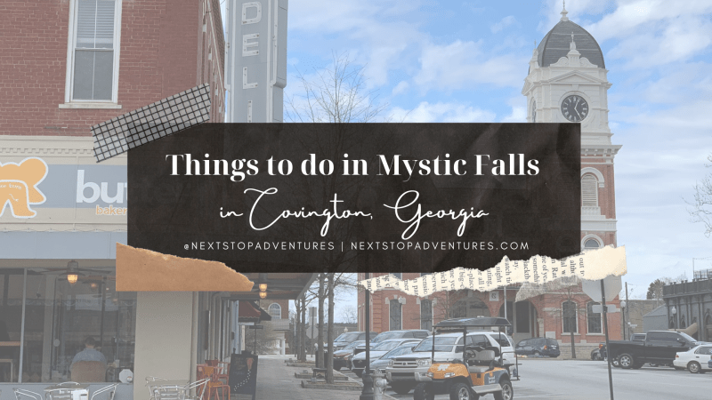 Things to do in Mystic Falls in Covington, Georgia