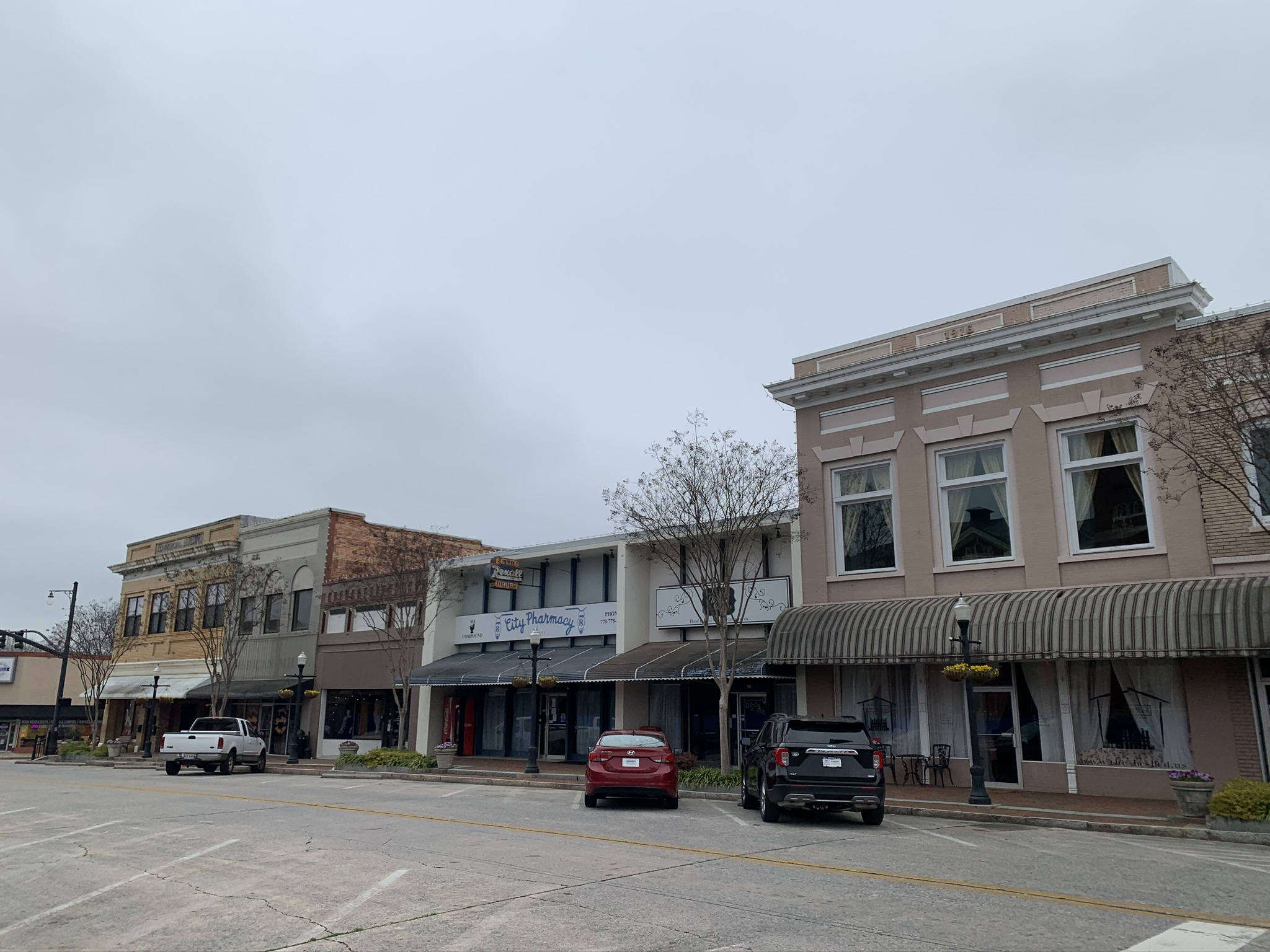 Downtown Hawkins in Jackson, Georgia is one of the top things to do in Mystic Falls