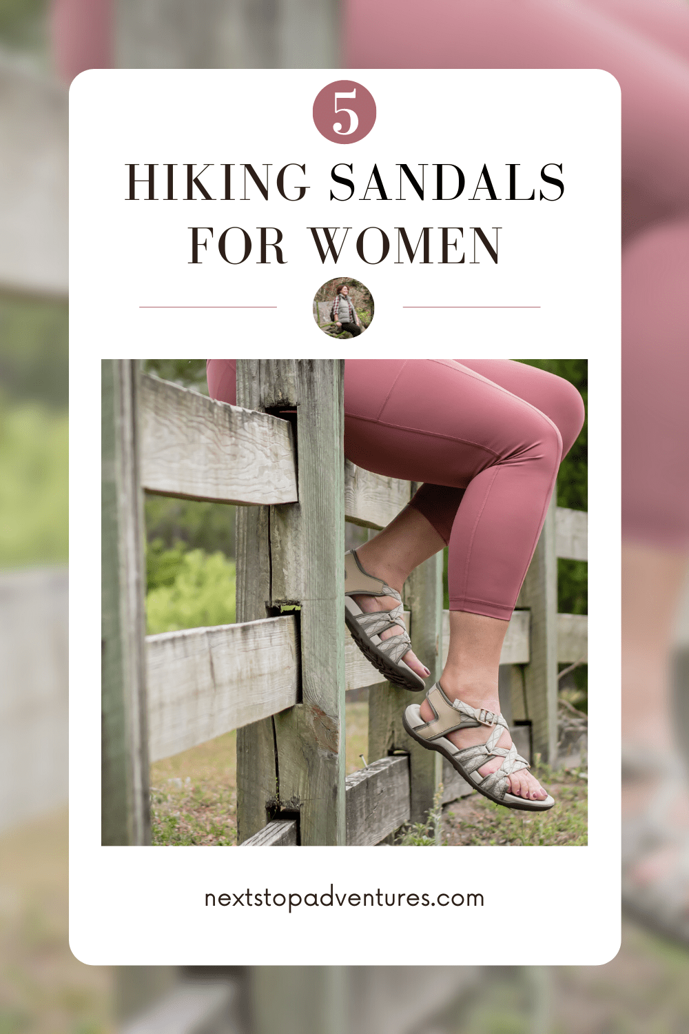 top 5 best hiking sandals for women
