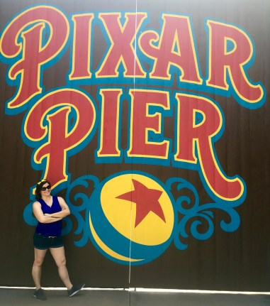Instagram-Worthy Photo Walls: Pixar Pier Doors