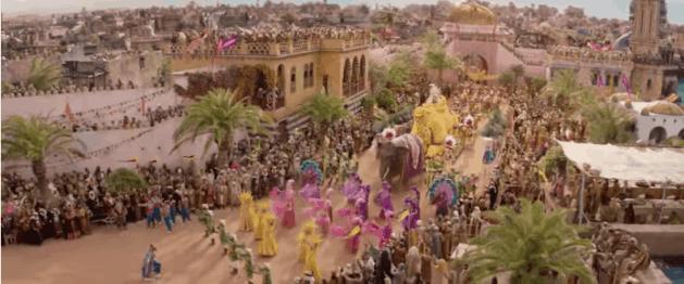 Disney's Aladdin Agrabah Live Action