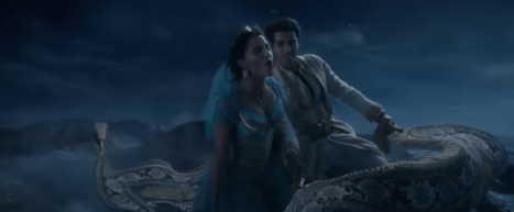 Disney's Aladdin Official Trailer - Flying Carpet A Whole New World