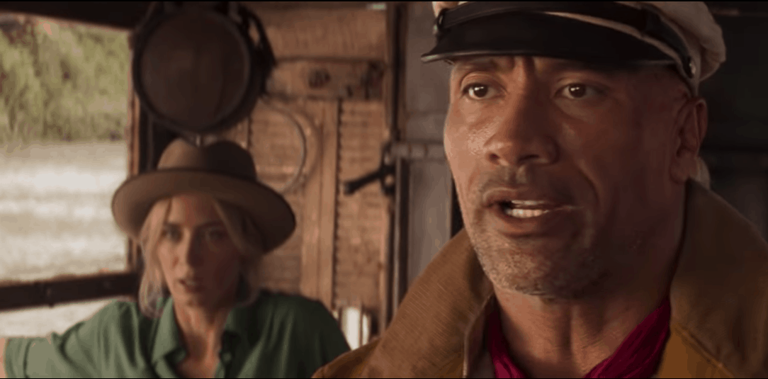 Dwayne Johnson, Emily Blunt, Disney's Jungle Cruise