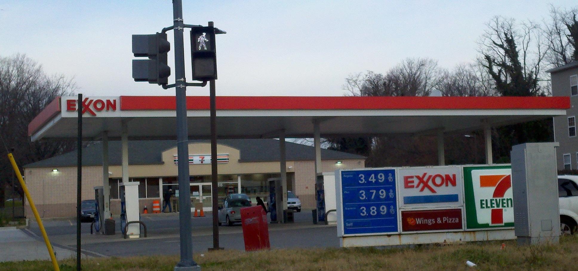Exxon 7 Eleven After Shot