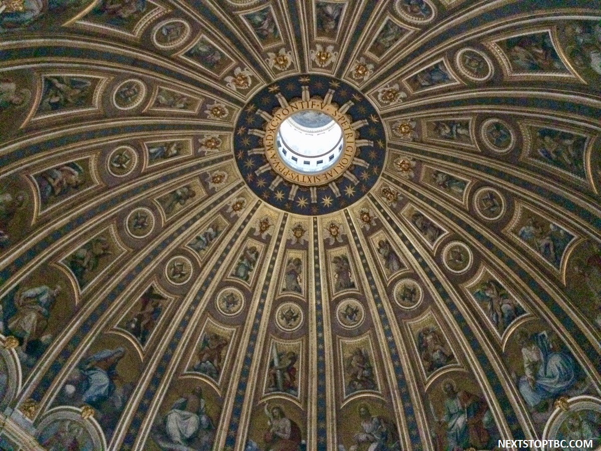 Vatican St. Peter's Basilica Dome