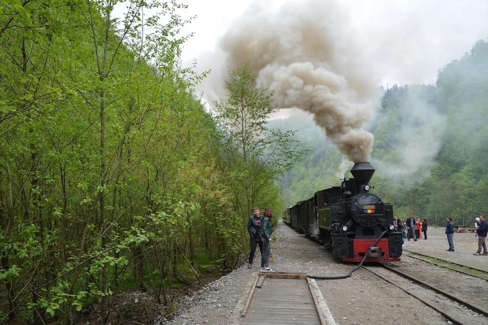 Romania Maramures Steam Train