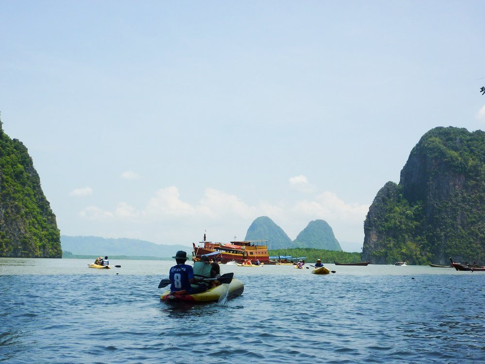 Sea Kayak in Thailand