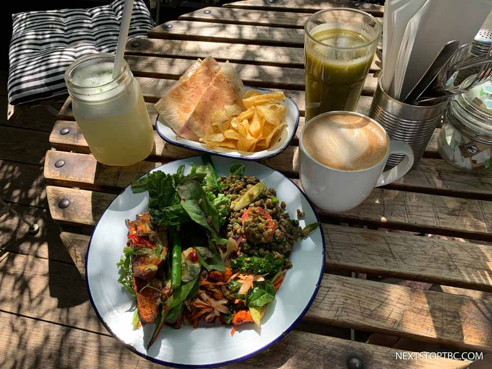 Lunch at Brompton Food Market