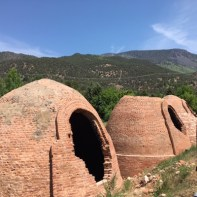 historic kilns in Basalt where we did a day trip for gallery-hopping and lunch
