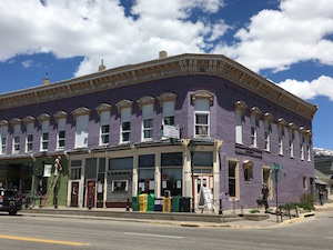 colorful buildings in Leadville