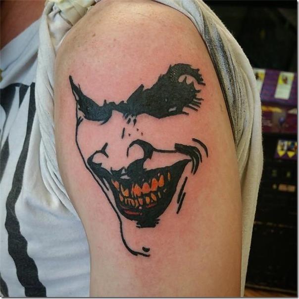 Joker Tattoos Nexttattoos