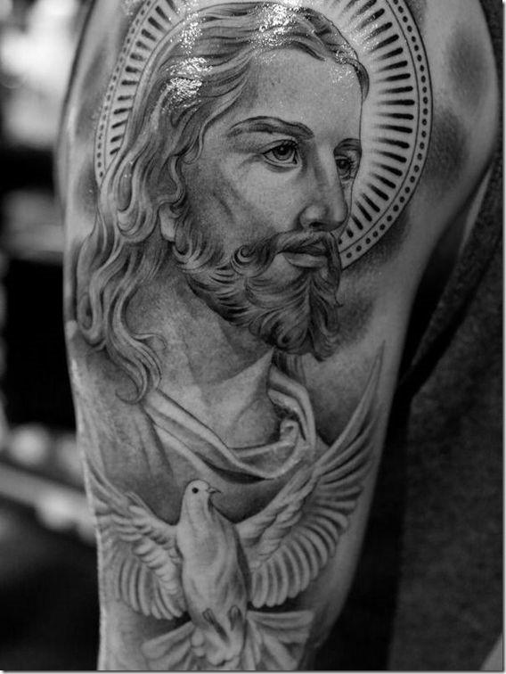 Jesus Christ Tattoo On Forearm : jesus, christ, tattoo, forearm, Tattoos, Jesus, Forearm, Gallery