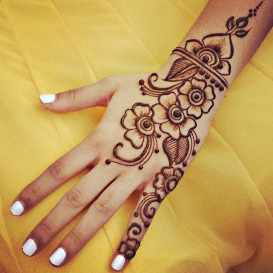 Henna Tattoos Photos Designs How You Can Make Them And Handle