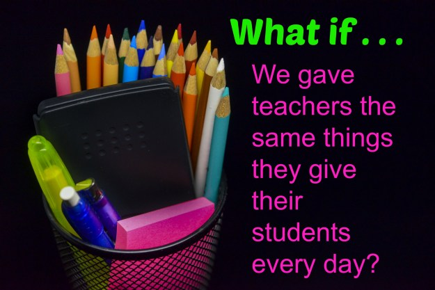 What if we gave teachers what they need