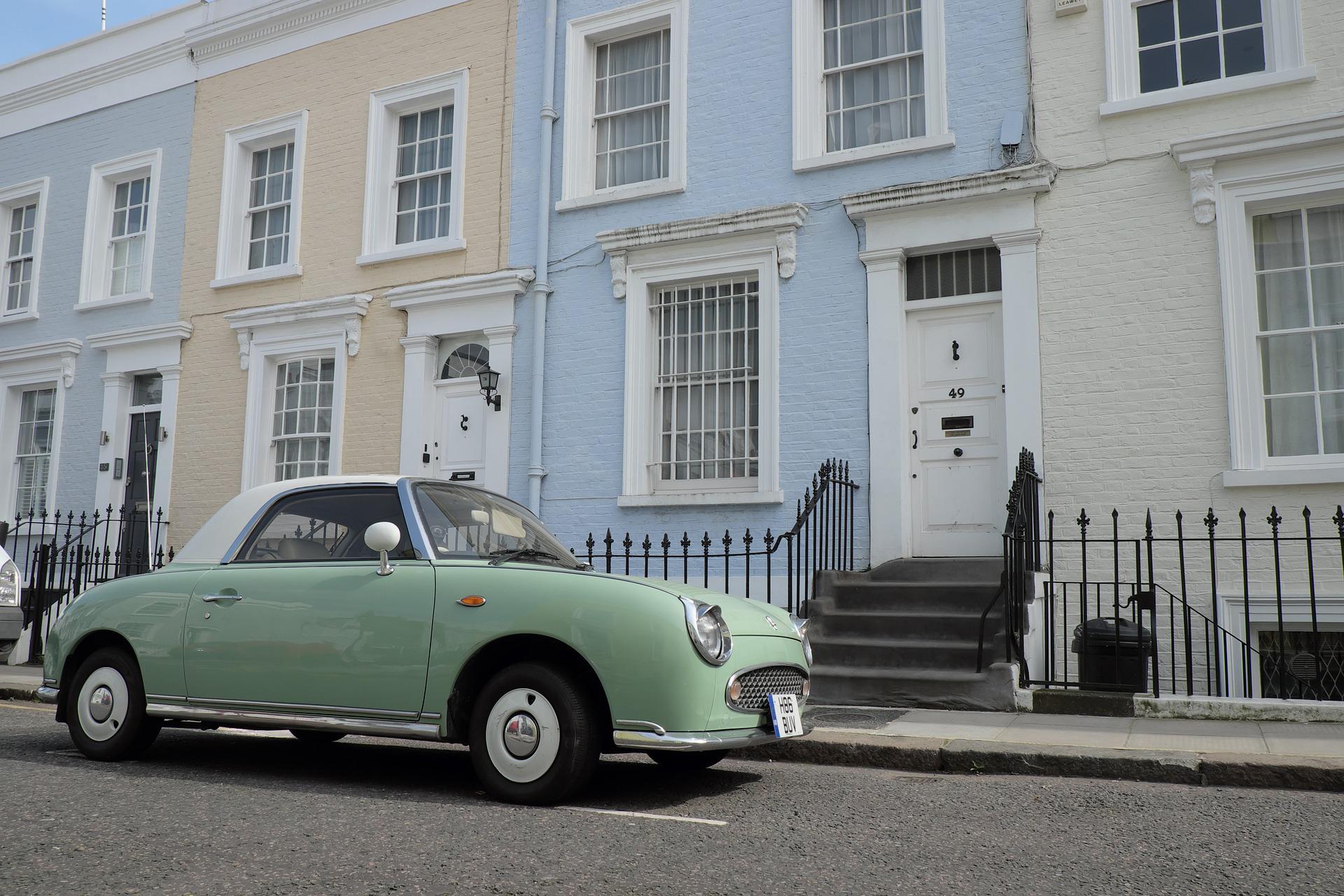 De Kleurrijke straten van Londen