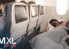 Aeromexico verkoopt volledige rij economy-stoelen