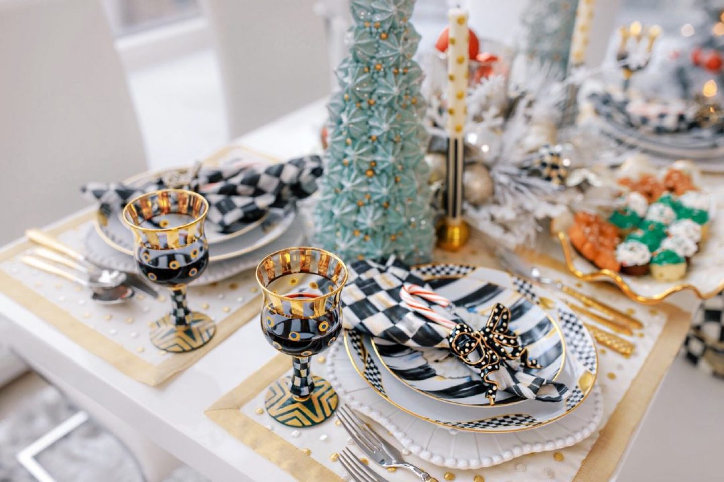 MacKenzie-Childs Tablescape