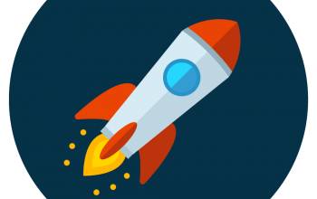 rocket-icon-vector