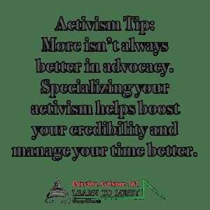 Grassroots Activism Tip