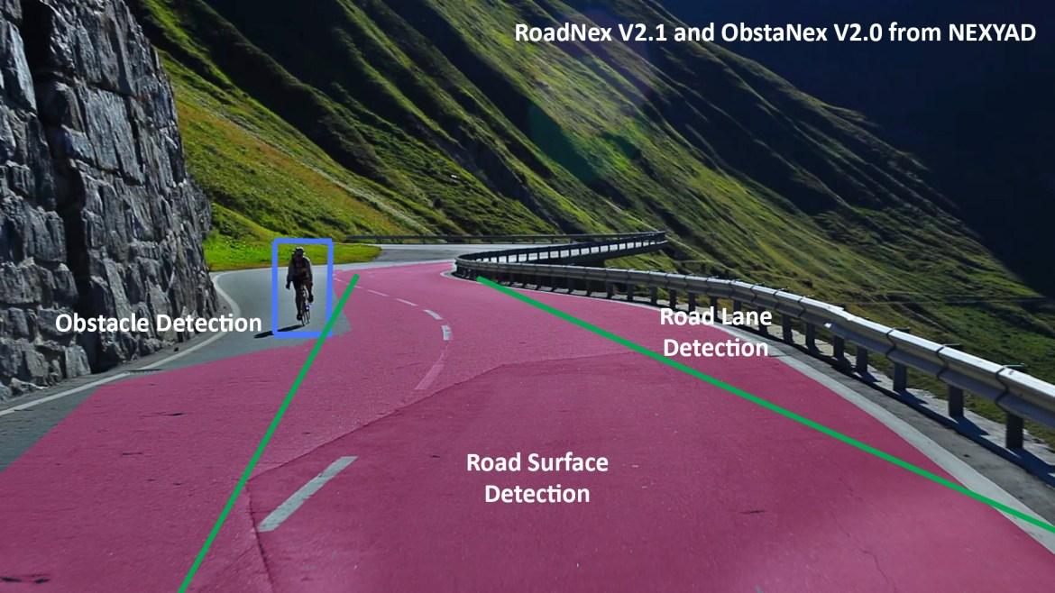 Road & Obstacle Detection Montain