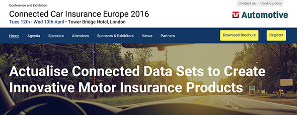 Connected Car Insurance Europe 2016