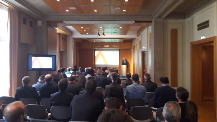 Pitch of Nexyad at CESA Automotive 2016 in Versailles