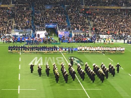 BMW Rugby France vs New Zealand