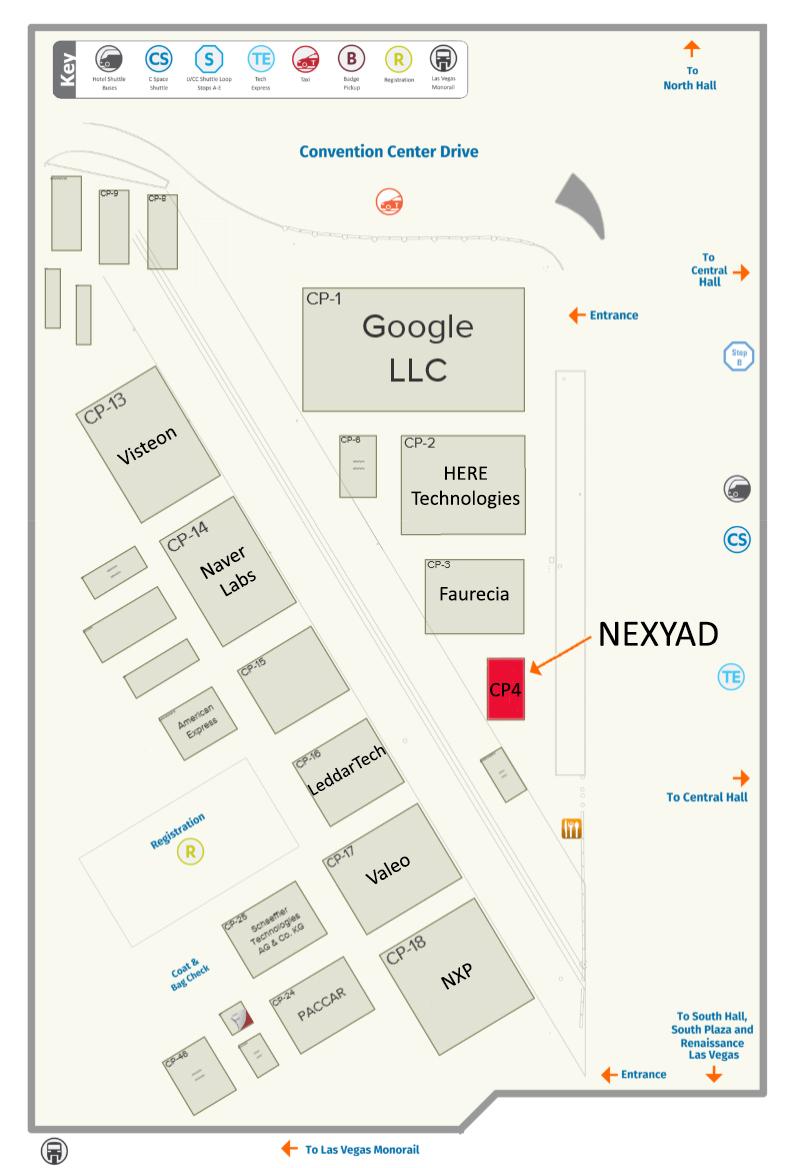 Nexyad CES 2019 access