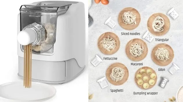 Automated pasta and noodle maker