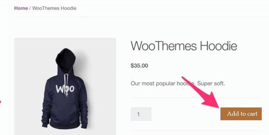 add to cart woocommerce