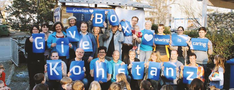 Einweihung GiveBox Konstanz
