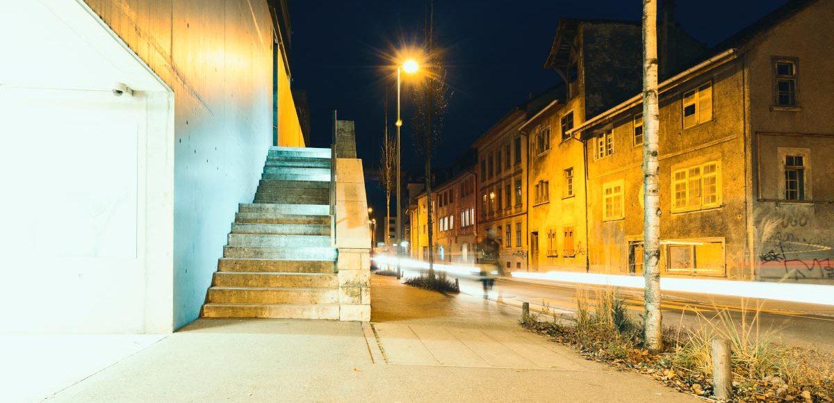Schaffhausen, Langzeitbelichtung