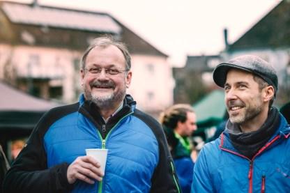 Baggerballett 2.0 Axel Nieburg und Bert Binnig