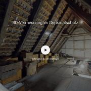 3D Vermessung im Denkmalschutz